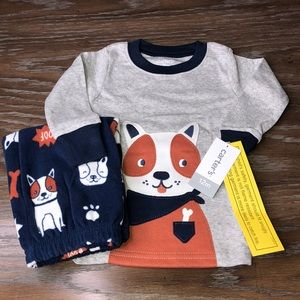 Boys Baby Pajamas Set Dogs Puppies Infant Toddler